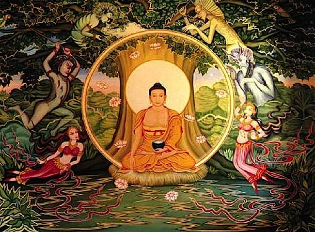 Buddha-Weekly-Shakyamuni-under-bodhi-tree-Buddhism