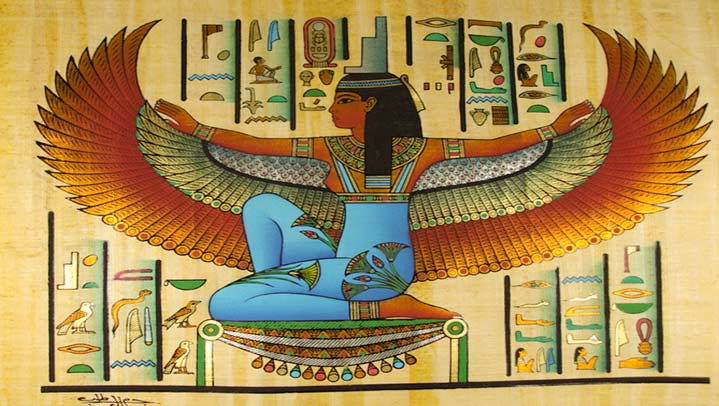 Isis-goddess-Egyptian-mythology