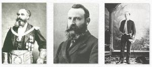 The Founders of the Golden Dawn - Bros. Woodman, Westcott, and Mathers